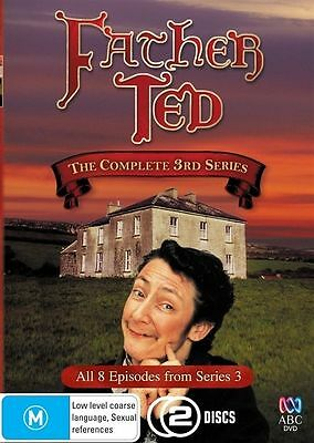Father Ted The Complete 3rd Series  2-Disc Set Region 4 DVD Brand New Sealed