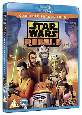 Star Wars Rebels Complete Series Season 4 (2018) Blu-ray New Region Free A,B,C!