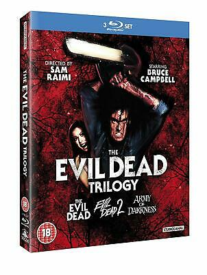 The Evil Dead Trilogy 1+2+3 Army of Darkness Collection Blu-ray Boxset Region B