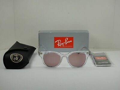 91fe5c1e4ee Ray-Ban Meteor Evolve Sunglasses Rb2168 912 z0 Purple Photochromic Lens 50Mm