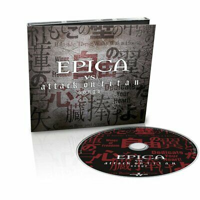EPICA Epica Vs Attack On Titan Songs DIGI CD NIGHTWISH/WITHIN TEMPTATION/THERION
