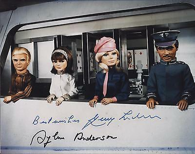 Gerry Anderson & Sylvia Anderson Signed Thunderbirds Photo - Uacc Rd Autograph