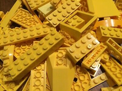 /& More! Special LEGO 250➕ Random ORANGE Authentic Lego Pieces; Plates Blocks