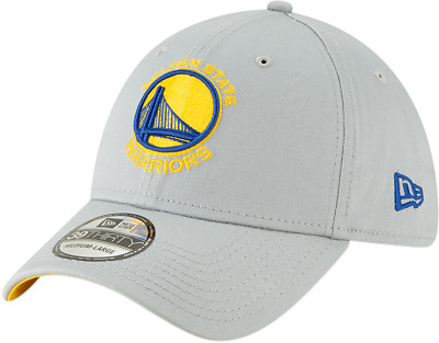 Golden State Warriors New Era 3930 NBA Squadra Grigio Elasticizzato Cappello 38d5d115db38