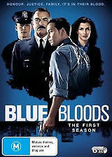 Blue Bloods First Season - Brand New & Sealed 6-Disc Dvd (Selleck, Wahlberg) R4