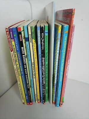 Lot 15 chapter books Children's Youth Early Readers Homeschool Teacher b4
