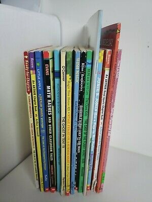 Lot 15 chapter books  Children's Youth Early Readers Homeschool Teacher b1