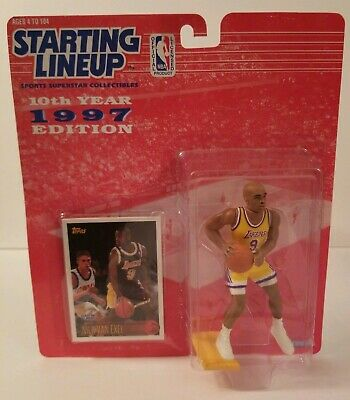 a14195acfb3 1997 NICK VAN Exel Los Angeles Lakers Basketball Nba-Starting Lineup ...
