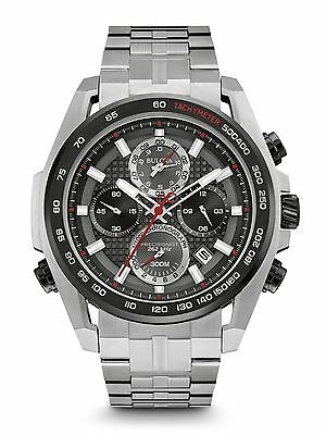 Bulova Precisionist Ultrahigh Frequency Stainless Steel Men's Watch 98B270