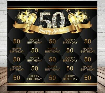 40Th Forty Fortieth Birthday Party Personalised Banner Backdrop Rose Gold