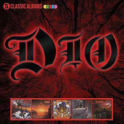 Dio - 5 Classic Albums NEW CD