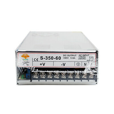 1PC CNC Router Single Output Power Supply 350W 60V S-350-60 LONGS MOTOR