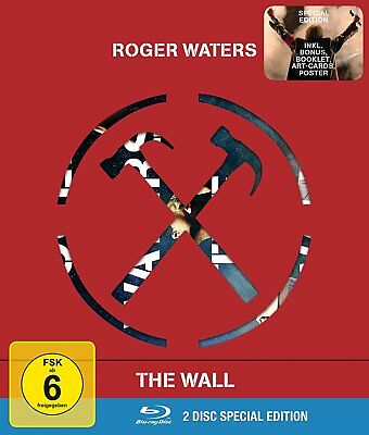 Roger Waters The Wall - Special Edition - Dolby Atmos 2 BLU-RAY NEW