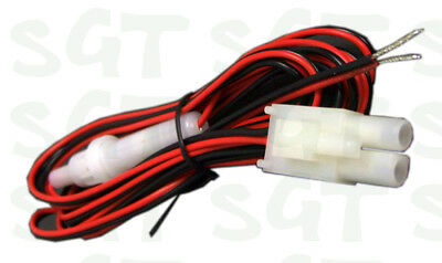 Uniden UHF CB Radio 2 Pin Power Cable Wiring Harness 2m with In-Line Fuse CB7