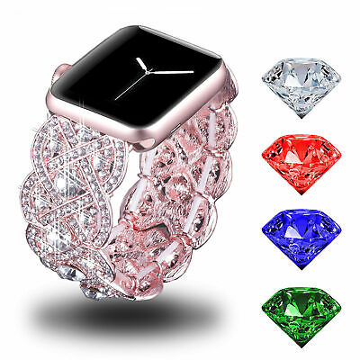 Crystal Bracelets Wristwatch Bands For Apple Watches Bands 38 42MM Wrists Straps