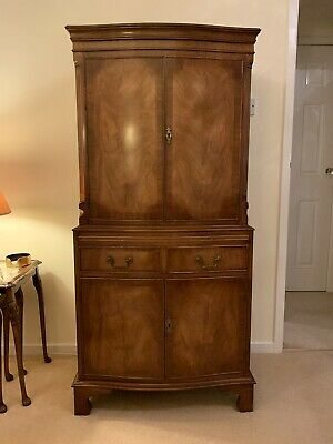 Bevan Funnell Reprodux Cocktail Cabinet Mahogany Well Cared For