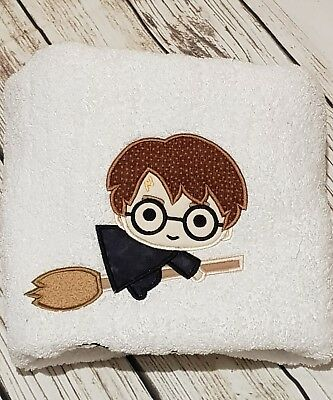 Embroidered Towel - Harry Potter