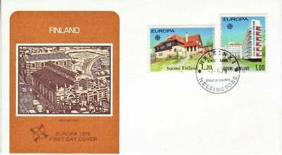 Finland - Assortment of First Day Covers (6no PO FDC's) 1970-77