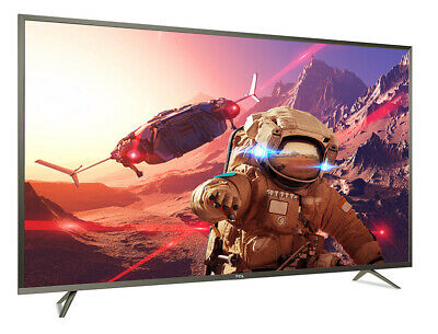 """SMART TV 65"""" LED TCL U65P6046 4K UHD 164 cm HDR Android Wifi Bluetooth DLNA P60"""
