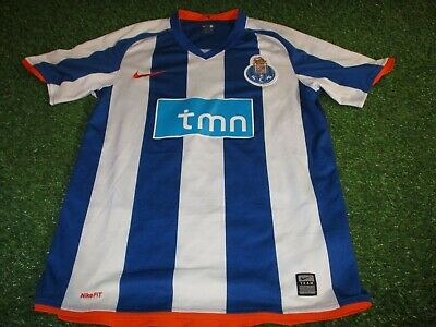 fc porto portugal football portugese soccer small mans nike made home jersey