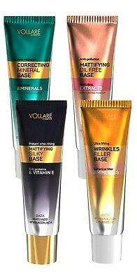 6,63€/100ml Vollare Make Up Base Face Primer unter Concealer Foundation farblos
