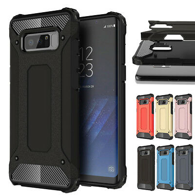 New Hybrid Shockproof Dustproof Case Cover For Samsung Note 9 S9 S8 S7 iPhone X