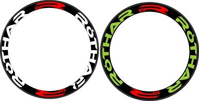 C25 Wheel Rim Decal Sticker DURA Road Bike Racing Cycle 15mm 2 RIMS 700C