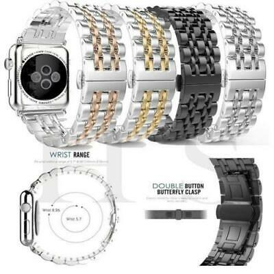 Stainless Steel Link Bracelet Strap Watch Band for Apple iwatch Series 4 40/44MM