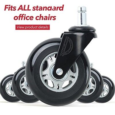 office chair wheels replacement rubber chair casters for hardwood floors and 5