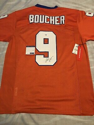 cb1f27cdb80 Adam Sandler Signed Autographed Bobby Boucher The Waterboy Jersey Psa/Dna