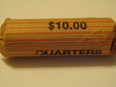 1999 P Connecticut State Quarters Circulated Wrapped Roll of 40