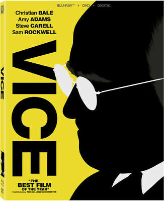 Vice (Blu-ray DVD) WITH DIGITAL  FREE SHIPPING  NEW New