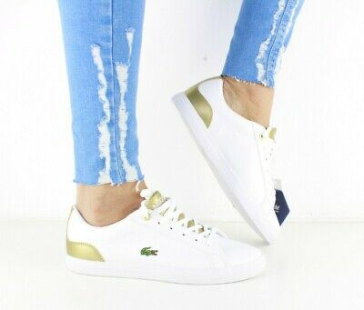 221e787b6126af LACOSTE LEROND 318 Women Girls Leather Trainers - Various Sizes ...