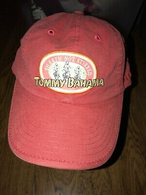 fe93f526f Tommy Bahama Relax Tini Panel Dad Hat Shakin Not Stirred Big Patch Logo  Beach