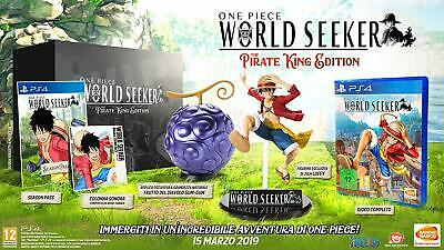 ONE PIECE WORLD SEEKER COLLECTOR'S EDITION NUOVO ita per Playstation 4 PS4