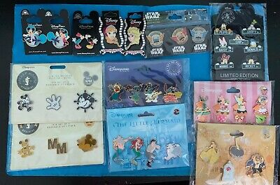 Disney Pin Sets Characters & Movies You Choose Ship Free LE 10.99 -17.99 All New