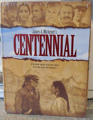 Centennial : THE COMPLETE SERIES (DVD 2008 6-Disc Set) RARE 1978 BRAND NEW