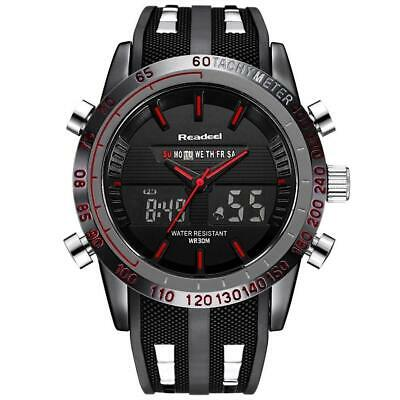 Infantry Mens Quartz Wrist Watch Led Digital Military Sports