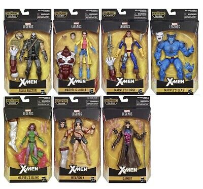 "Marvel Legends 6/"" X-Men Wave 4 IN STOCK Forge CALIBAN BAF"