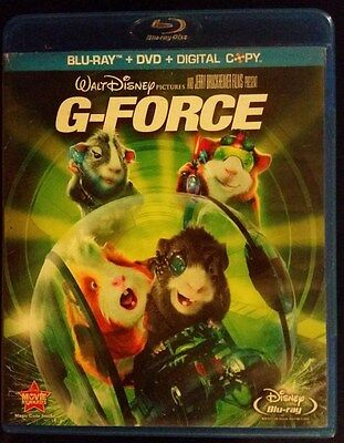 """Disney's """"g-Force"""" (Blu-Ray/dvd, 2009) In Like New Condition!"""