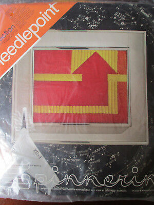 NEW Vintage Modern Abstract Artist Donna Clifton needlepoint kit DIRECTION