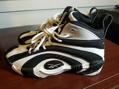 413bf184a06 Reebok Shaqnosis - Black White - V53185 - Shaq Attaq Retro - Men s Size 7