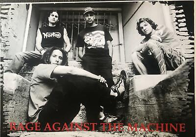 Rage Against The Machine original 1999 Group Shot Poster 24 x 34
