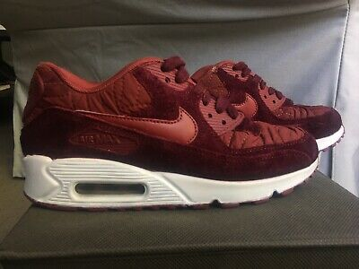 low priced a5adc b0182 CUSTOM Women's Nike Air Max 90 Premium Quilted Shoes -Size 6.5 PREOWNED USED