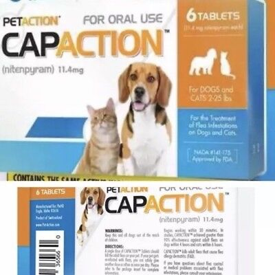 CapAction Insect Treatment for Dog - 2-25lbs
