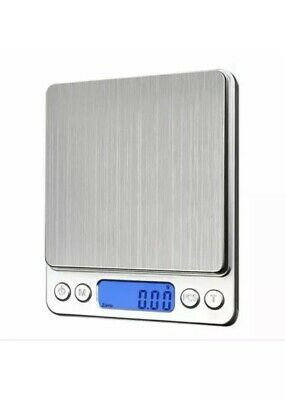 Digital Scale 500g x 0.01g for Shipping Kitchen Food Jewelry Coin Silver bat Inc