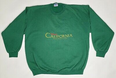Disney Parks Disneyland California Adventure Sweater Vtg Made in USA Size XL