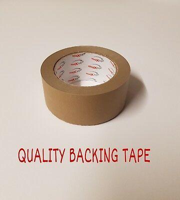 Brown Self Adhesive Backing Tape 50mm Masking Tape Eco Tape Craft Tape Sticky