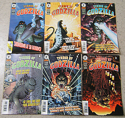 TERROR OF GODZILLA : Lot of 6 issues (#1 to #6). Dark Horse Classics . VG/NM