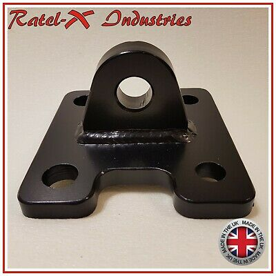 Defender Rear Bumper Recovery Eye Shackle Bracket (with Shackle) Ratel-X